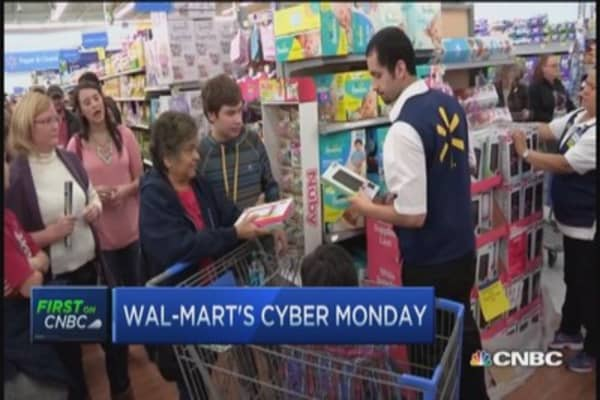 Wal-Mart's Cyber Monday