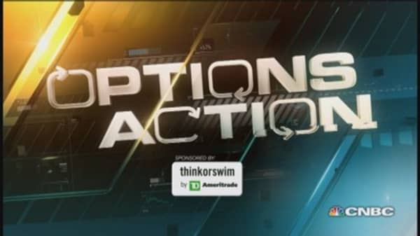 Options Action: Gold stocks surge