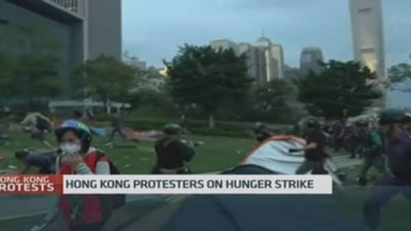 Hong Kong protests enter day 66