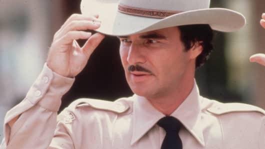 Burt Reynolds circa 1985