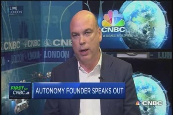 Autonomy's fight with Hewlett-Packard