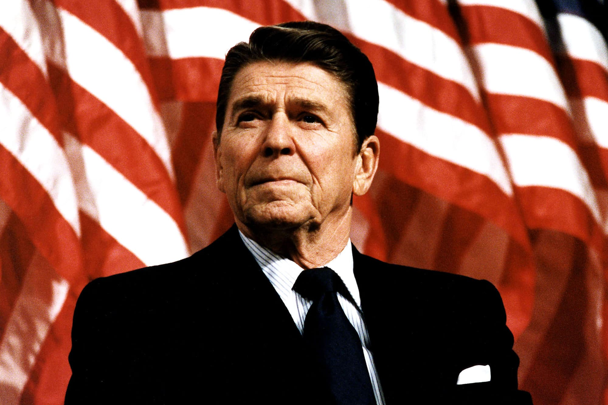 when did republicans become obsessed with reagan?