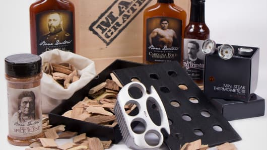 Man Crates' Grill Master Crate