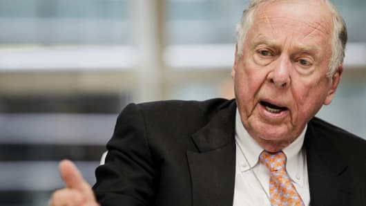 T. Boone Pickens, chief executive officer of BP Capital Management