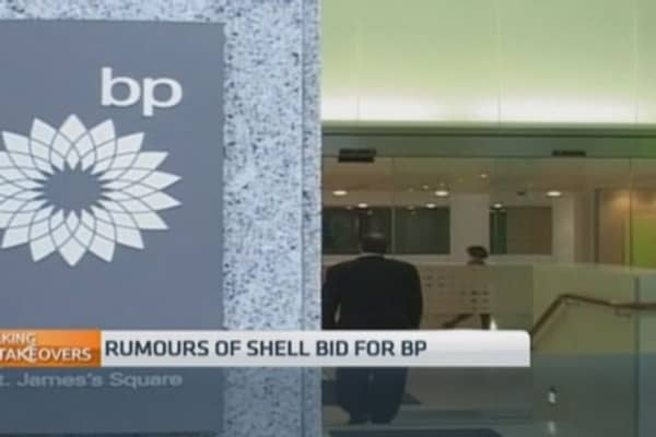 Rumors swirl about Shell bid for BP