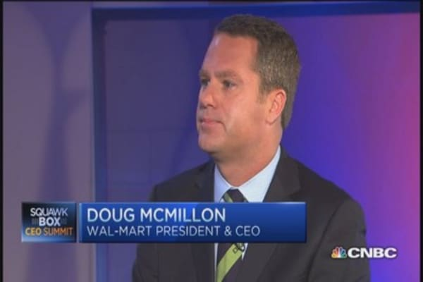 Wal-Mart CEO on the US economy, jobs