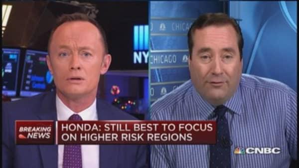 Honda expands air bag recall nationally: Report
