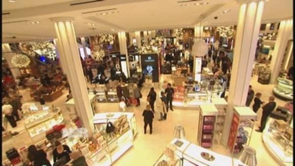 Holiday retail winners