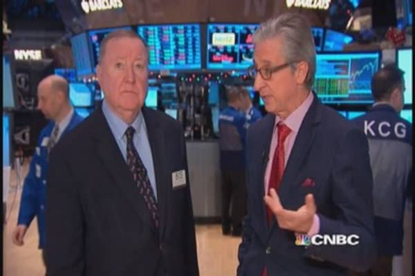 Cashin says oil trying to find bottom