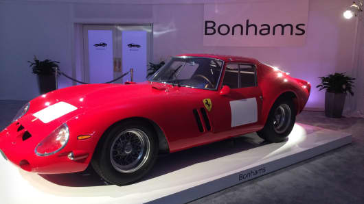 A 1962 Ferrari 250 GTO became the most expensive car ever sold at auction this summer for $34.65 million.