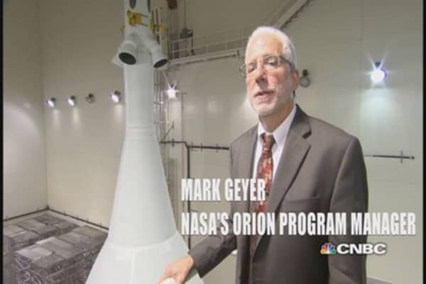 Orion test launch coming Thursday