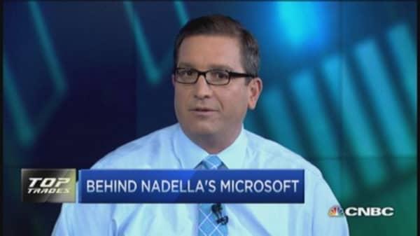 Nadella's new Microsoft