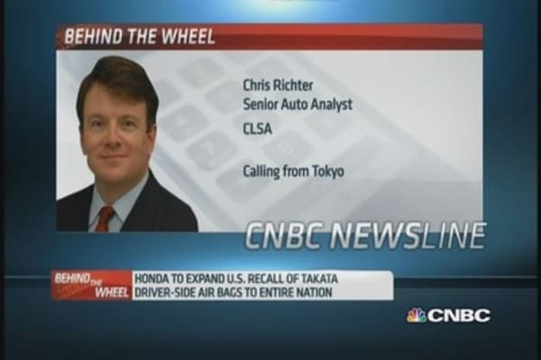 Will Takata lose business to other airbag makers?