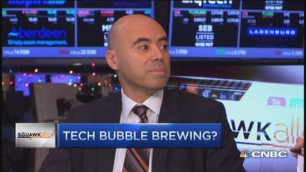 Overall a valuation bubble: Hany Nada