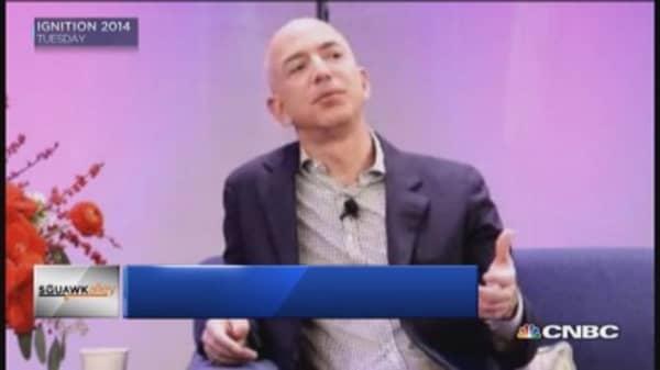 Jeff Bezos' bold bets