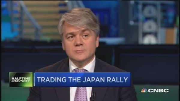 Pro remains bullish Japan