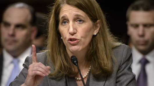 Secretary of Health and Human Services Sylvia Burwell.