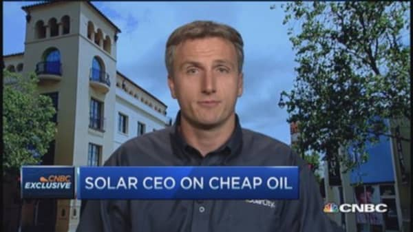 SolarCity CEO: Oil has no impact on US electricity