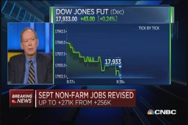 After strong jobs, ex-Fed president on rates