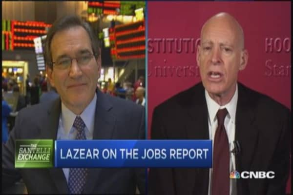 Lazear: Strong jobs report overall