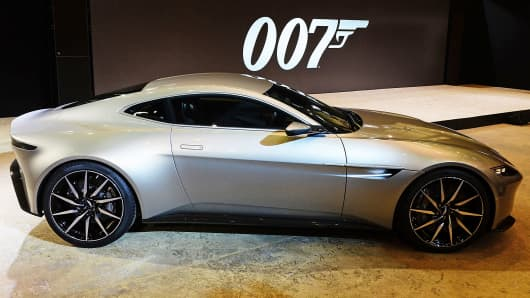 License To Drive James Bond Gets A New Car You Cant Buy - How much do aston martins cost