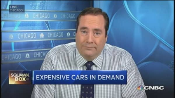 Hottest selling cars? $50,000 and up