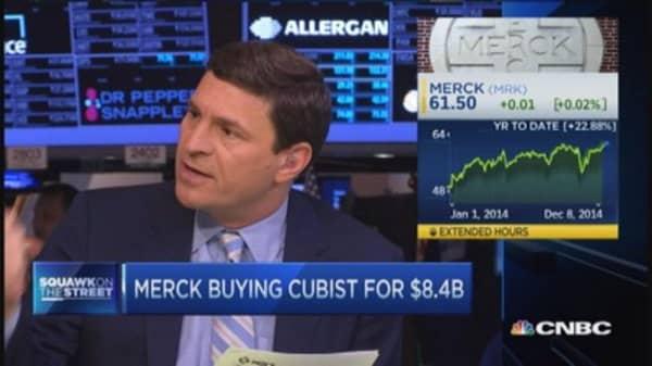 Merck-Cubist deal about 'superbugs'