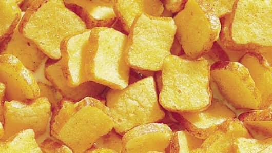 General Mills' French Toast Crunch cereal.