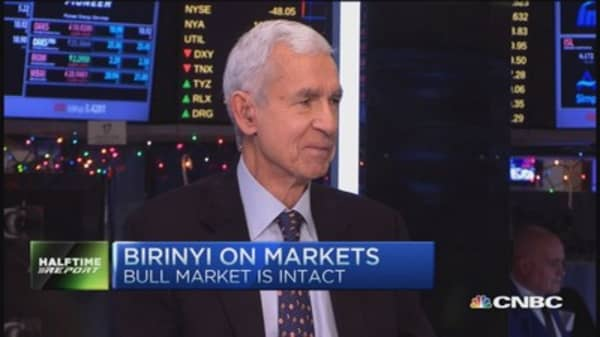 Laszlo Birinyi: Bull market intact