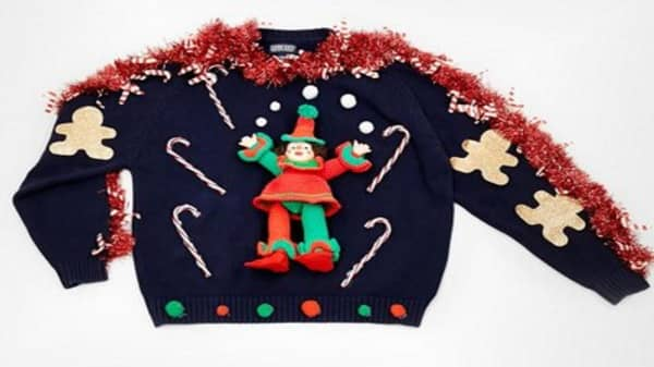 Ugly sweater holiday craze