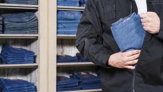 shoplifting crime theft