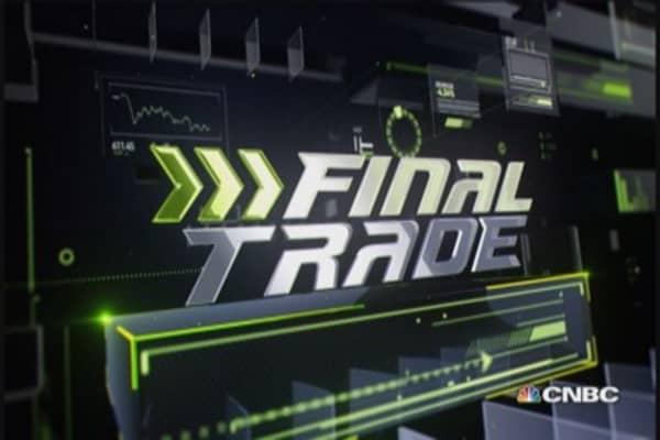Fast Money Final Trade: MCD, YUM, RF & FEYE