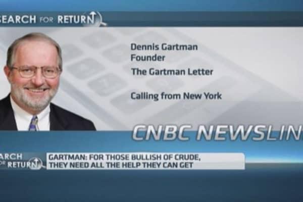OPEC is finished: Gartman