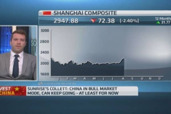 Selloff not the top for Chinese stocks: Pro
