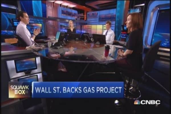 Wall Street backs Cheniere's big gas project
