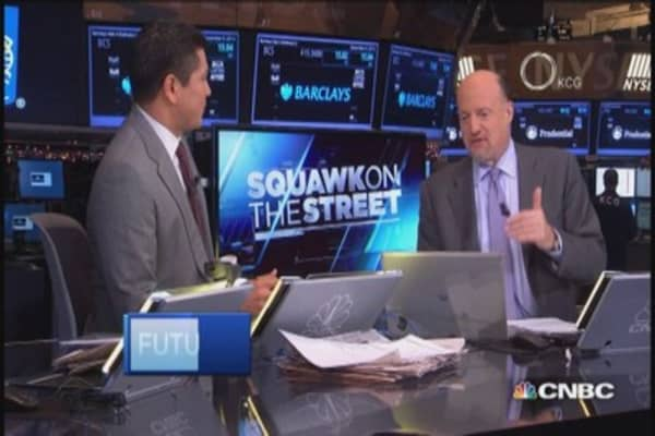 Cramer: We're at 'considerable time'