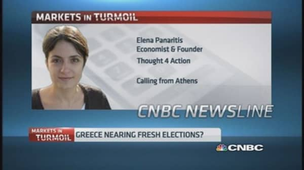 Greece nearing fresh elections?