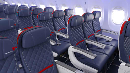 Comfort Plus seating options offered by Delta Airlines