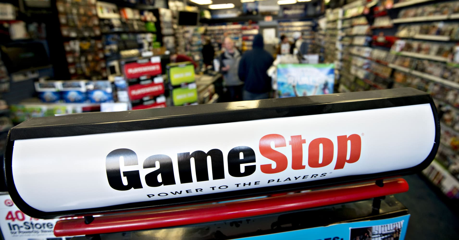Gamestop Shares Fall After Lowering Guidance Cramer Says Strategy