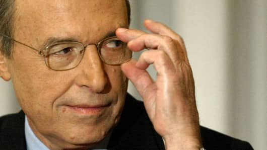 Former Greek Prime Minister Costas Simitis