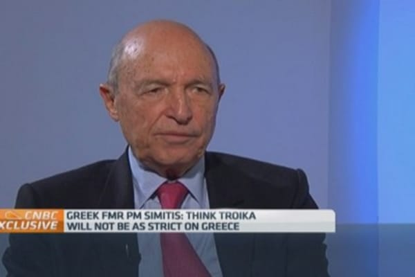 Greek governments have spent too much: Ex-PM