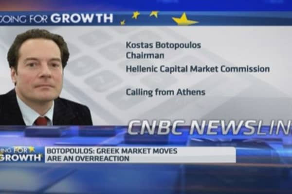 Greece: Uncertainty in markets