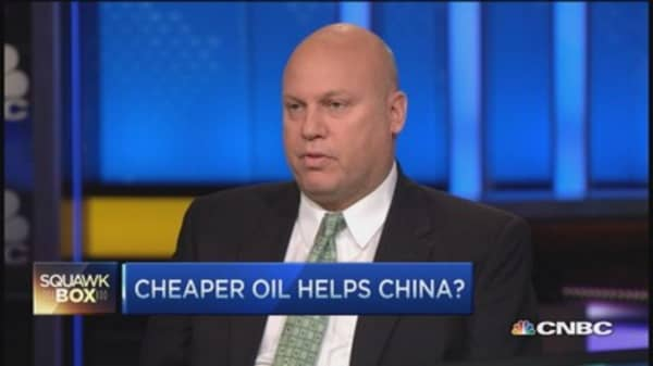 How cheaper oil boosts China