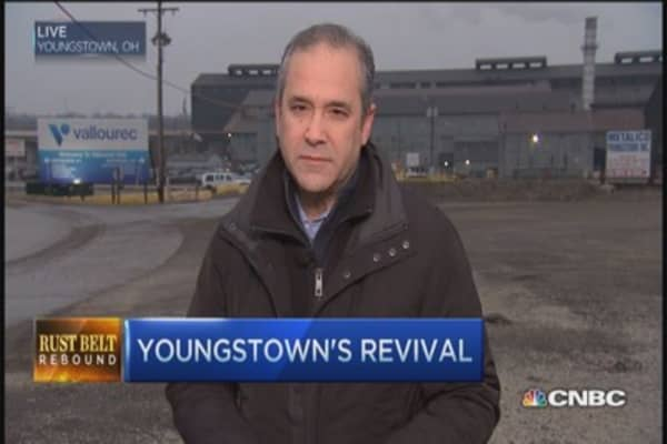 Youngstown's rust belt rebound