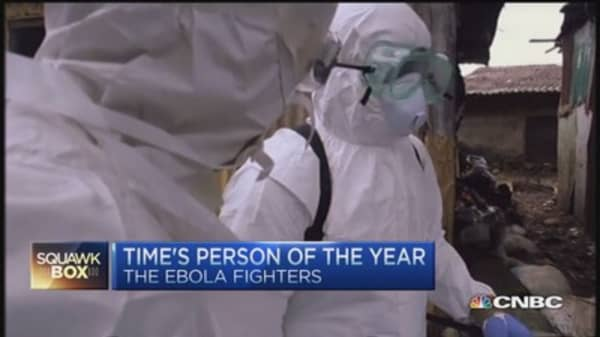 Ebola fighters picked Time's 2014 'Person of the Year'