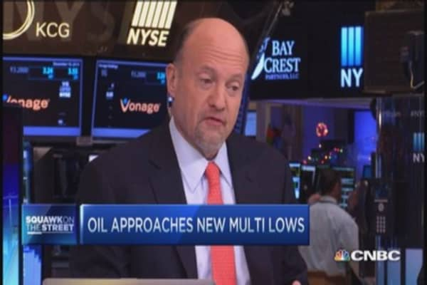 Cramer: Low oil fabulous for business
