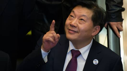 Lu Wei, China's Minister of Cyberspace Affairs Administration.