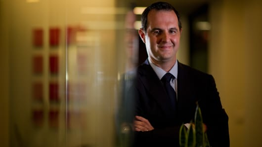 Renaud Laplanche, co-founder and chief executive officer of LendingClub.