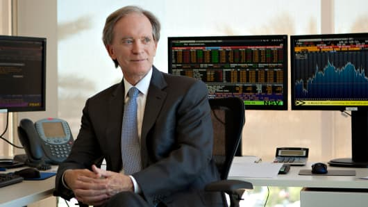 Bill Gross, portfolio manager, Janus Capital.