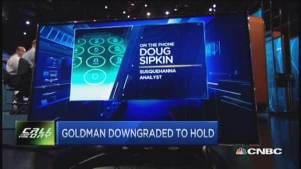 Debating Goldman Sachs downgrade
